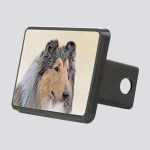 Collie (Rough) Rectangular Hitch Cover