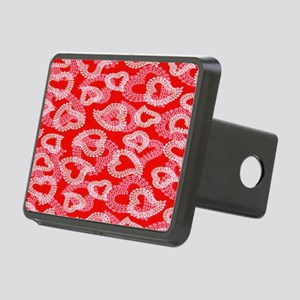 Lace Hearts copy copy Rectangular Hitch Cover