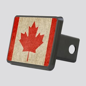 Canada Faded Shoulder Rectangular Hitch Cover