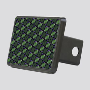 Stylish Green Rectangular Hitch Cover
