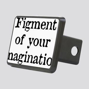 figment_white Rectangular Hitch Cover