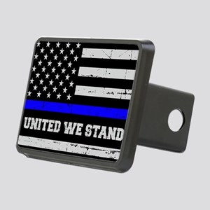 Thin Blue Line - Blue Liv Rectangular Hitch Cover
