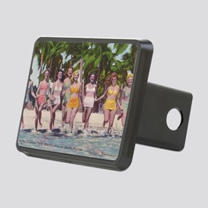 Vintage Miami Bathing Beau Rectangular Hitch Cover