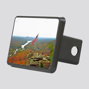 Above Chimney Rock Rectangular Hitch Cover