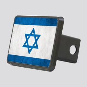 Grunge Flag Of Israel Hitch Cover