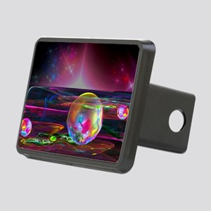Fractal Art Rectangular Hitch Cover