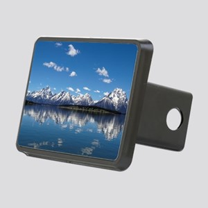 GRAND TETON - JACKSON LAKE Rectangular Hitch Cover