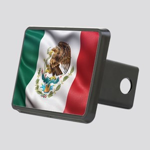Mexico flag Rectangular Hitch Cover