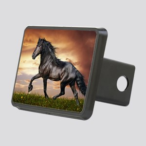Beautiful Black Horse Hitch Cover