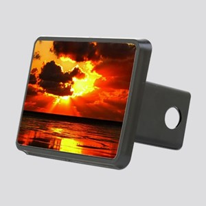 Sunset Rectangular Hitch Cover