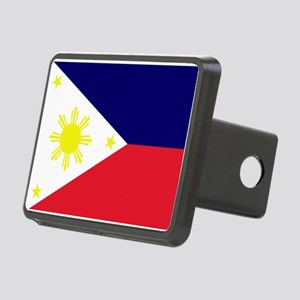 Flag Philippines Rectangular Hitch Cover