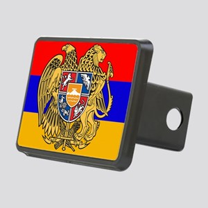 ARMENIA FLAG Rectangular Hitch Cover