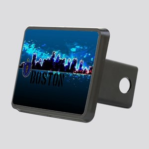 Boston Skyline Rectangular Hitch Cover