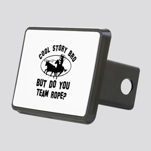Team Rope designs Rectangular Hitch Cover