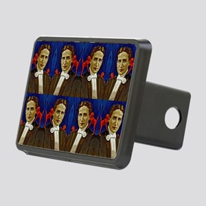 harry houdini devils red b Rectangular Hitch Cover