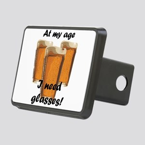 At my age I need glasses! Rectangular Hitch Cover