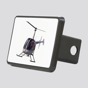 Helicopter Flying Aviation Rectangular Hitch Cover