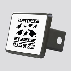 Class Of 2018 Rectangular Hitch Cover
