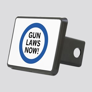 Gun Laws Now! Rectangular Hitch Cover