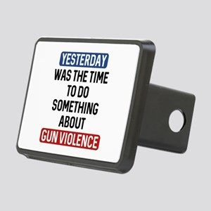 End Gun Violence Now Rectangular Hitch Cover