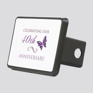 40th Anniversary (Butterfly) Rectangular Hitch Cov