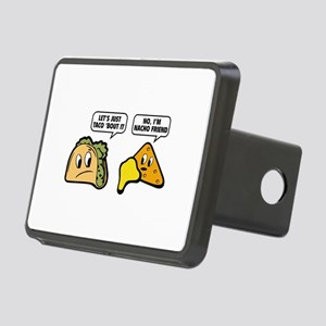 Let's Just Taco 'Bout It Rectangular Hitch Cover