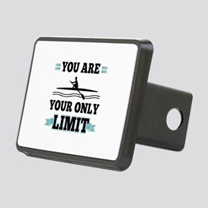 You Are Your Only Limit Rectangular Hitch Cover