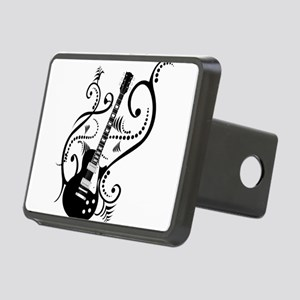 guitarwaves2 Rectangular Hitch Cover