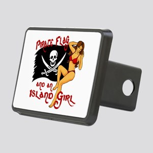 pirate girl Hitch Cover
