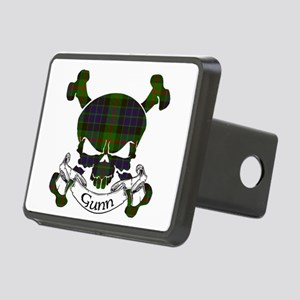 Gunn Tartan Skull Rectangular Hitch Cover
