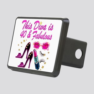 GORGEOUS 40TH Rectangular Hitch Cover