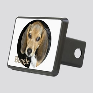 Close Up Puppy Beagle Rectangular Hitch Cover