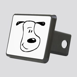 Snoopy Rectangular Hitch Cover