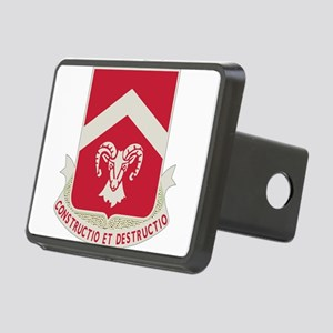 40th Army Engineer Battali Rectangular Hitch Cover