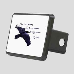 All Crows Want to Fly Free Hitch Cover