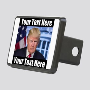 President Donald Trump Meme Hitch Cover