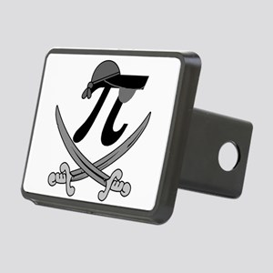 Pi - Rate Greyscale Rectangular Hitch Cover