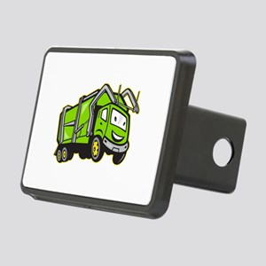 Garbage Rubbish Truck Cartoon Rectangular Hitch Co