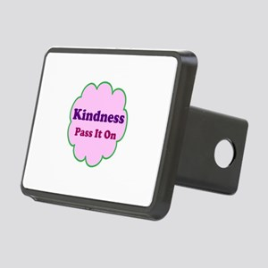 Pink Kindness Pass It On Rectangular Hitch Cover