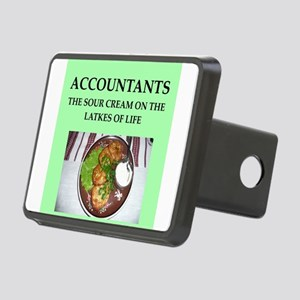 accountant Rectangular Hitch Cover