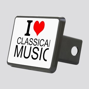 I Love Classical Music Hitch Cover