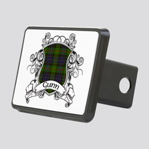 Gunn Tartan Shield Rectangular Hitch Cover