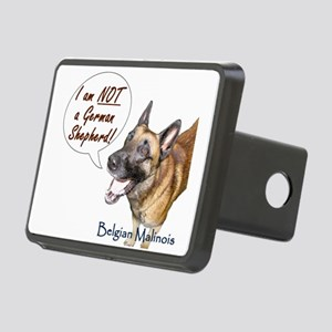 I am NOT a German Shepherd Rectangular Hitch Cover