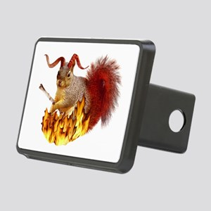 Krampus Squirrel Rectangular Hitch Cover