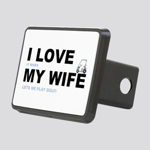 ILOVEMY WIFE Rectangular Hitch Cover