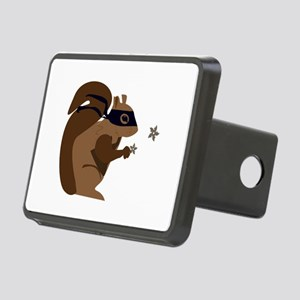 Masked Squirrel Hitch Cover