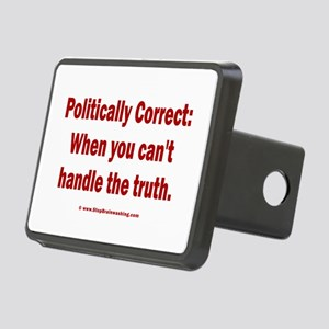 PC = Not the truth Rectangular Hitch Cover