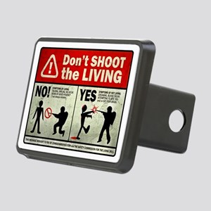 dontshoot Rectangular Hitch Cover