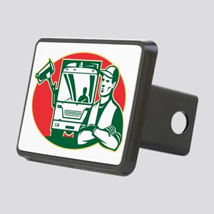 Garbage Collector and Side Rectangular Hitch Cover
