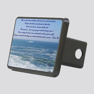 POWER OF THE MOMENT POEM Rectangular Hitch Cover
